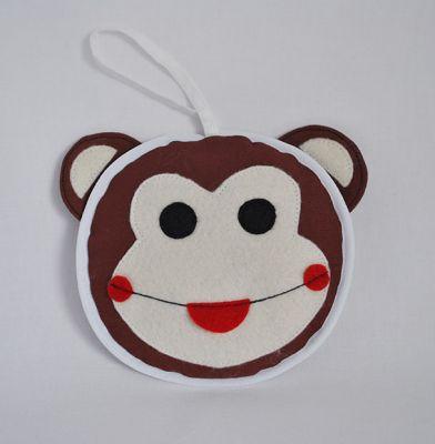 Reflexní zvířátko Opice